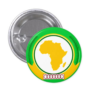United States of Africa Pinback Button