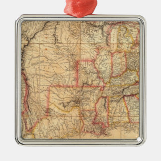 United States of America 12 Christmas Ornament