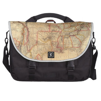 United States of America 12 Laptop Messenger Bag
