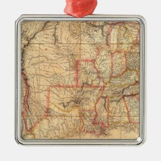 United States of America 12 Metal Ornament