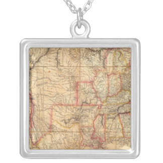 United States of America 12 Square Pendant Necklace