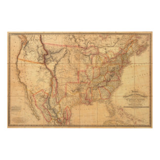 United States of America 12 Wood Canvases