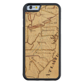 United States of America 2 Carved® Maple iPhone 6 Bumper Case