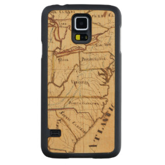 United States of America 2 Carved® Maple Galaxy S5 Slim Case