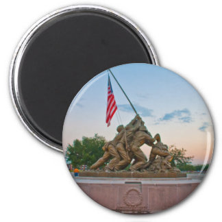 United States of America 2 Inch Round Magnet
