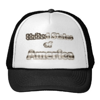 United States of America #2 Trucker Hat