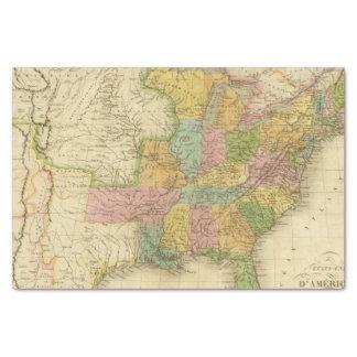 "United States of America 4 2 10"" X 15"" Tissue Paper"