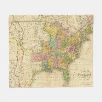 United States of America 4 2 Fleece Blanket