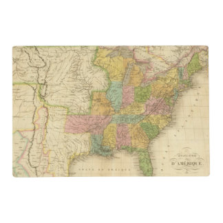 United States of America 4 2 Placemat