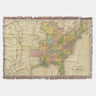 United States of America 4 2 Throw Blanket