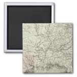United States of America 6 2 Inch Square Magnet