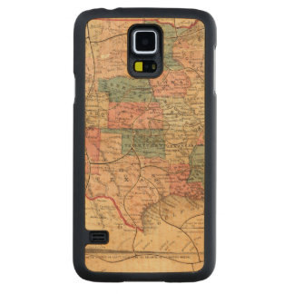 United States of America 8 Carved® Maple Galaxy S5 Case