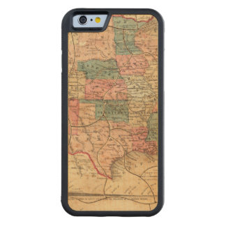 United States of America 8 Carved® Maple iPhone 6 Bumper Case