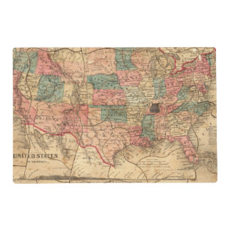 United States of America 8 Placemat