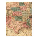 United States of America 8 Postcard