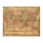 United States of America 8 Wood Wall Art