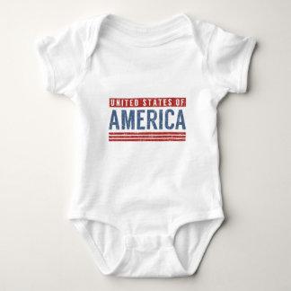 United States of America Baby Bodysuit
