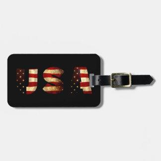 United States of America Bag Tag