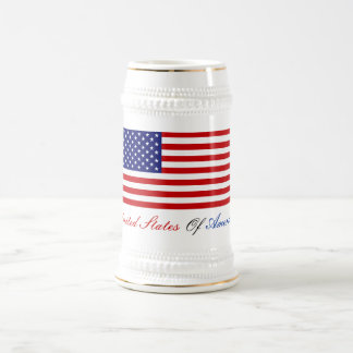 UNITED STATES OF AMERICA BEER STEIN
