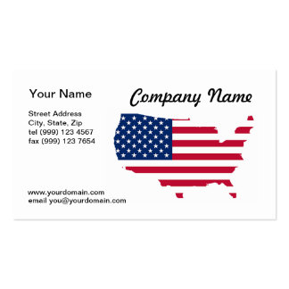 United States of America Business Card