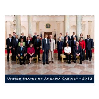 United States of America Cabinet - 2012 Postcard