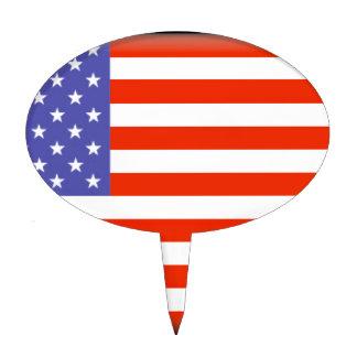 United States of America Cake Topper