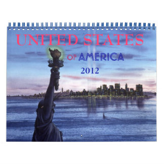 UNITED STATES OF AMERICA CALENDAR