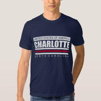 United States of America CHARLOTTE North Carolina Shirt