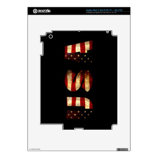 United States of America Decals For iPad 3