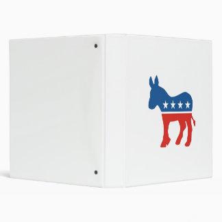 united states of america democrat party donkey usa 3 ring binder