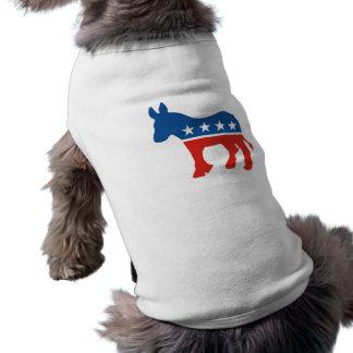 united states of america democrat party donkey usa pet clothing