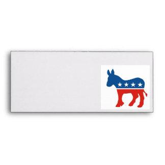 united states of america democrat party donkey usa envelopes