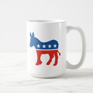 united states of america democrat party donkey usa mug
