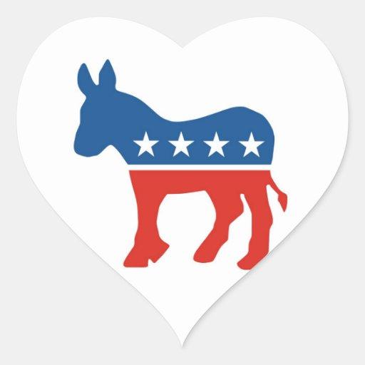 united states of america democrat party donkey usa sticker
