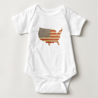 United States of America Flag & Country Shirt
