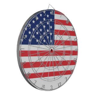 United States Of America Flag Dart Board