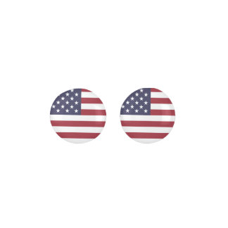 United States Of America Flag Earrings