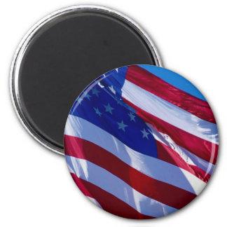 UNITED STATES OF AMERICA FLAG FRIDGE MAGNET