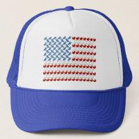 U.S. Flag of Birds Trucker Hat