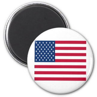 United States of America Flag 2 Inch Round Magnet