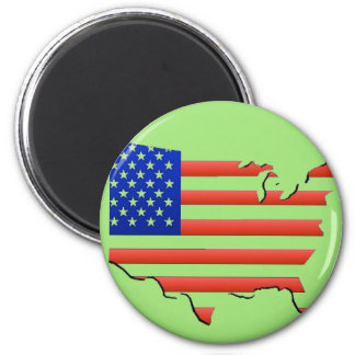 United States of America Flag Magnet