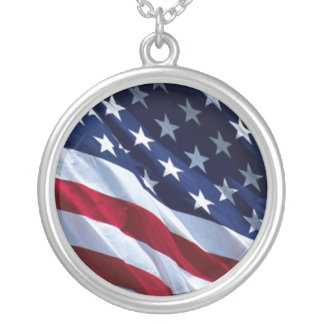 United States Of America Flag Necklace