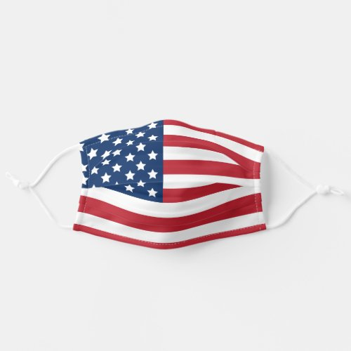 United States of America Flag  Patriotic Cloth Face Mask