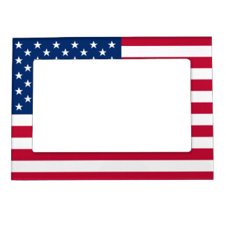 United States of America Flag (USA) Magnetic Frame