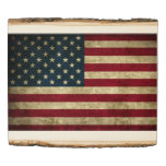 United States of America Flag Wood Panel