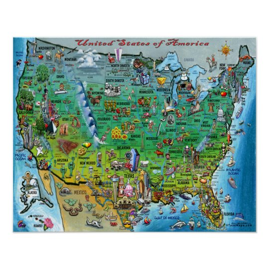 United States of America Fun Map Poster on camera poster, wisconsin poster, team usa poster, south dakota poster, usa ww1 propaganda posters, dinosaurs poster, colorado poster, georgia poster, usa maps with cities and highways, tennessee poster, maryland poster, kentucky poster, under the sea poster, usa poster for classroom, arizona poster, north dakota poster, bike poster, florida poster, vermont poster, new jersey poster,