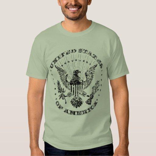 United States Of America Grunge T Shirt Zazzle