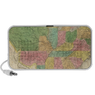 United States of America History Map iPhone Speakers