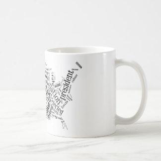 United States of America in Tagxedo Mugs