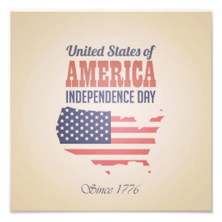 United States of America Independence Day Photo Print